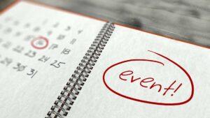 Event on calendar